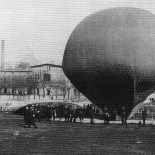Erster-Ballonaufstieg-in-Münster-12-12-1909